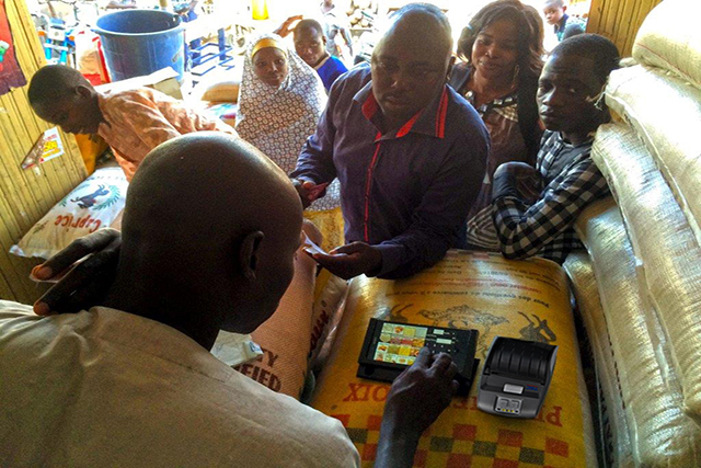 Cash and market solutionswith mobile printersfor the humanitarian sector