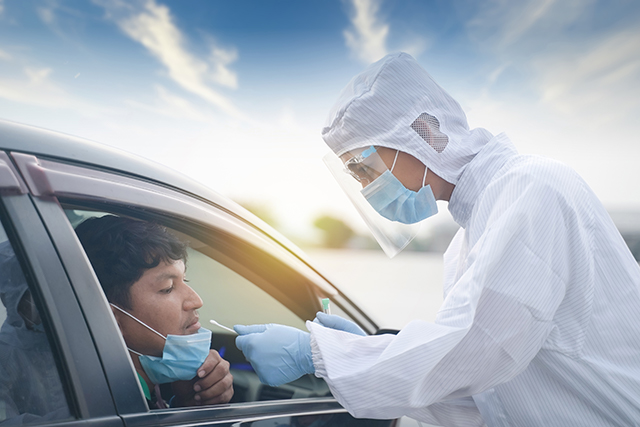 How Healthcare Providers are Setting up Diagnostic Drive-Thru Operations