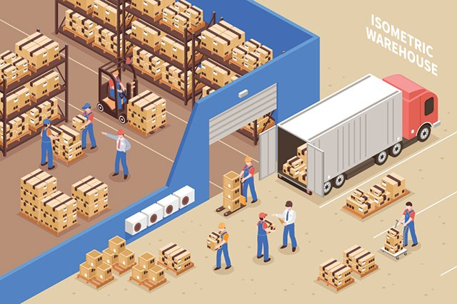 A 3D mapping and voice navigation system to improve efficiency at logistics centres
