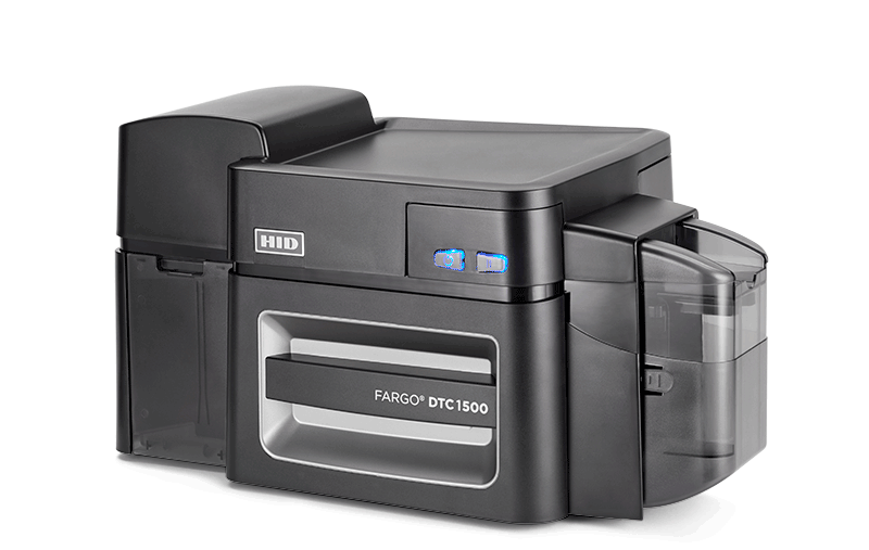 Direct-to-card printer with many options