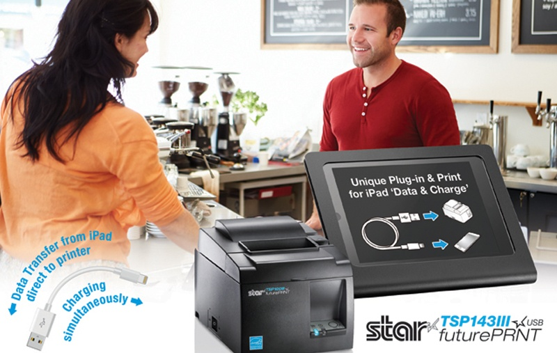 Innovative printers help to solve tablet POS challenges