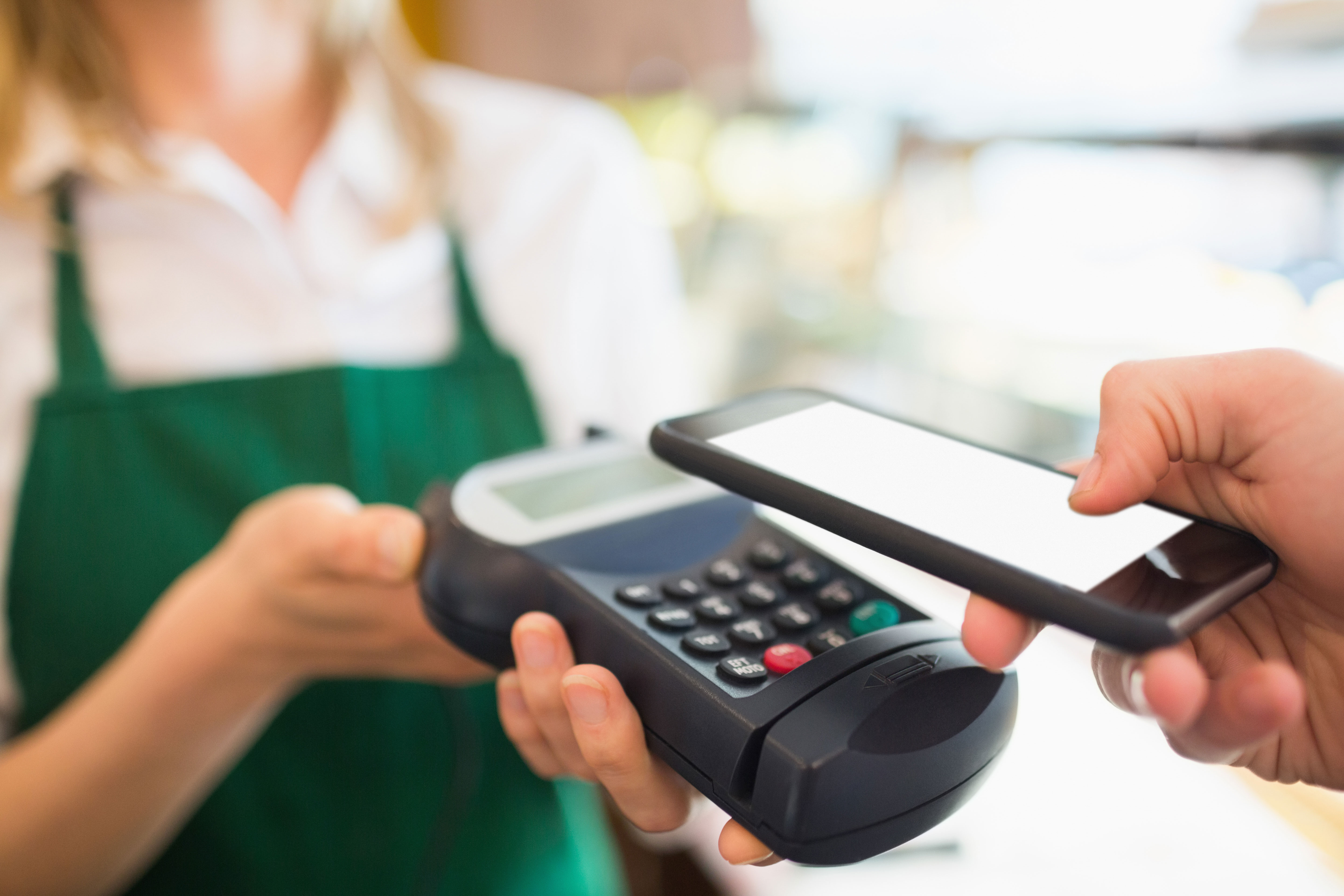 Secure purchasing transactions with NFC