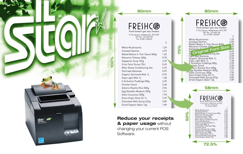 The lowest cost receipt printer now comes with even more benefits